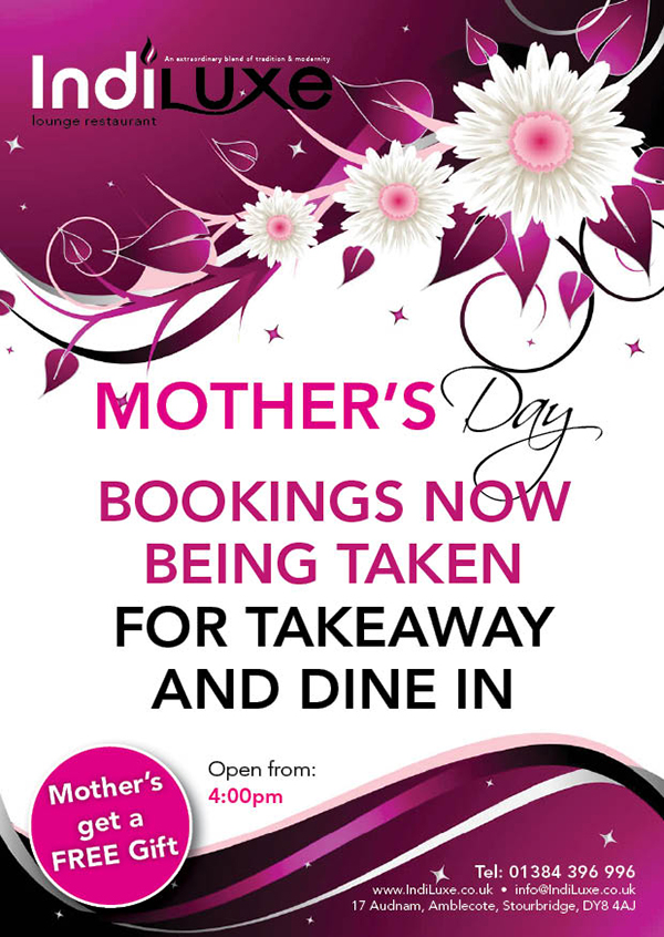 Indiluxe Mothers day Special Offers