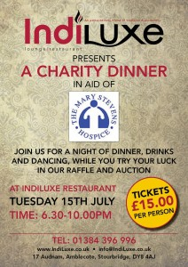 IndiLuxe Restaurant Charity Events